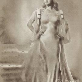 Ann Sheriden, Vintage Actress by John Springfield - John Springfield