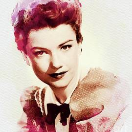 Anne Baxter, Vintage Actress - John Springfield