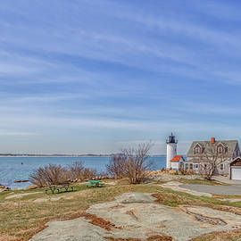 Annisquam Harbor Lighthouse by Brian MacLean