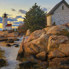 Annisquam Harbor Lighthouse by Juergen Roth