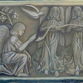 Anna Folkartanna Maciejewska-Dyba - Annunciation - existing fragment