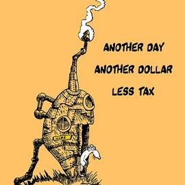 Kim Gauge - Another day, another dollar, less tax