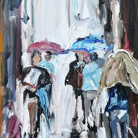 Donna Tuten - Another Rainy Day Oil Painting