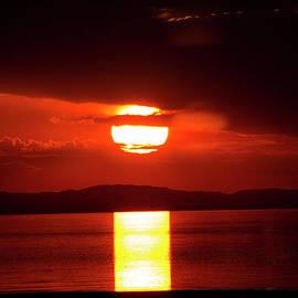 John Langdon - Antelope Island Sunset