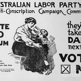 Pd - Anti Conscription Poster