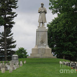 Antietam National Cemetery, Not For Themselves by Beverly Guilliams