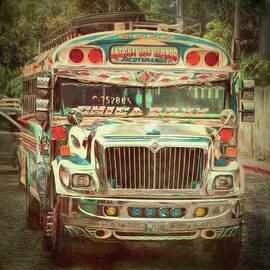 Claude LeTien - Antigua Chicken Bus
