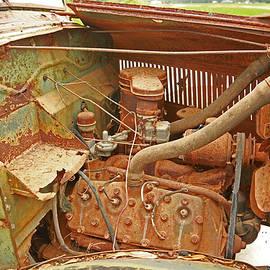 Ronald Olivier - Antique Abandoned Truck Engine