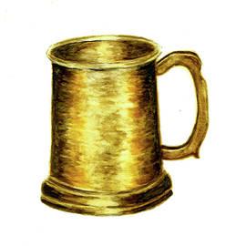 Michael Vigliotti - Antique Brass Tankard