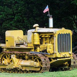 Antique Bulldozer by Mary Ann Artz