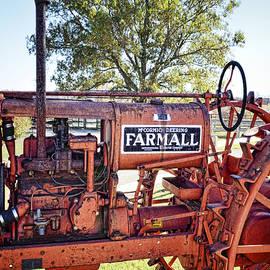 Ann Powell - Antique Farmall Tractor photography by Ann Powell