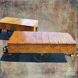Antique Flatbeds by Nina Silver