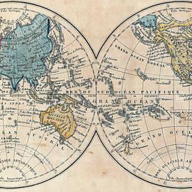 Sergey Lukashin - Antique map of the world