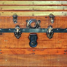 Antique Trunk by Cynthia Guinn