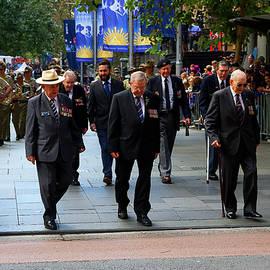 Miroslava Jurcik - Anzac Day March WW2 Navy Merchants Heros