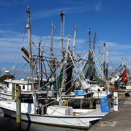 Carla Parris - Apalachicola Shrimp Boats