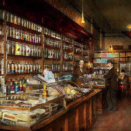 Mike Savad - Apothecary - A visit to the chemist 1913