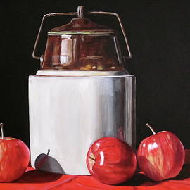 Lillian Bell - Apples and Crock