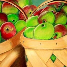 Jay Johnston - Apples in Baskets