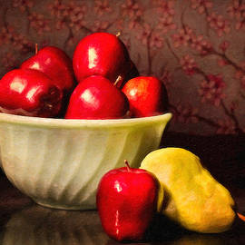 Dean Wittle - Apples in Bowl With Pear