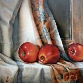 William Albanese Sr - Apples on the Windowsill