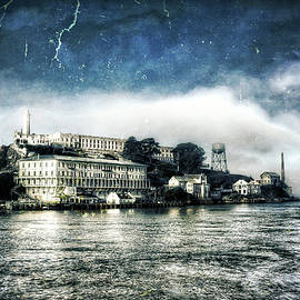 Jennifer Rondinelli Reilly - Fine Art Photography - Approaching Alcatraz Island by Boat
