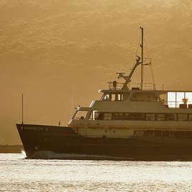 Nicholas Blackwell - Approaching Manly Wharf