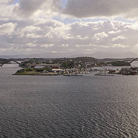 Approaching Stavanger by Tony Murtagh