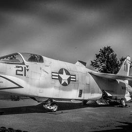 Approaching Storm - F-8 Crusader