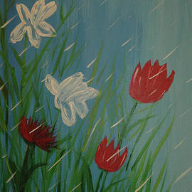 April Showers by Kathy Carlson