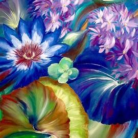 Marina Wirtz - Aqua Floral Iii