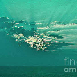 Aqua Sunset by Jeff Breiman