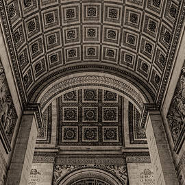 Nigel Fletcher-Jones - Arc de Triomphe Interior