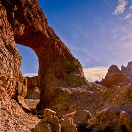 Arch In The Afternoon by Rikk Flohr