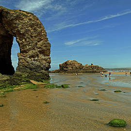 Rod Johnson - Arch Rock - Perranporth Beach