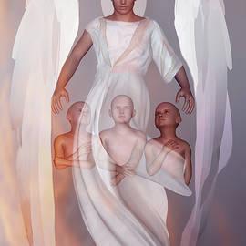 Archangel Metatron by Valerie Anne Kelly