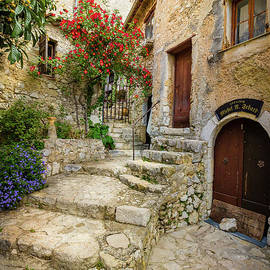 Liesl Walsh - Arched Cobblestone Stairway In Eze, France 2