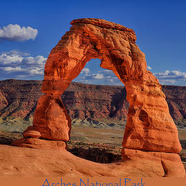 Arches National Park Poster by Greg Norrell