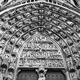 Teresa Mucha - Arches of the Central Portal B W