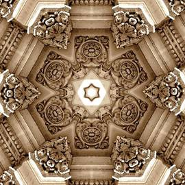 Architectural Mandala by Mary Pille