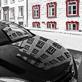Architectural Reflection on a Car by Lyuba Filatova