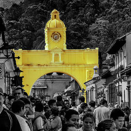 Arco de Santa Catalina - Color Splash - Guatemala by Totto Ponce