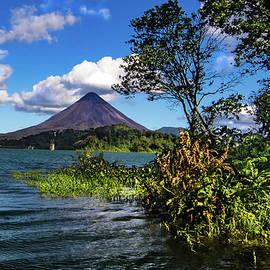 Arenal Volcano Lake Landscape by Norma Brandsberg