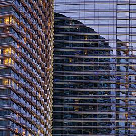 Aria Window Reflections #3 - Las Vegas by Stuart Litoff