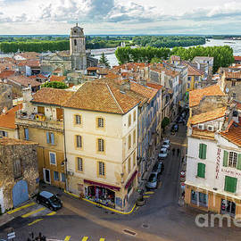 Arial View of Arles, France by Liesl Walsh