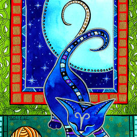 Aries Cat Zodiac by Dora Hathazi Mendes