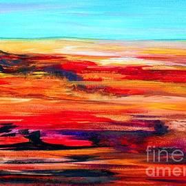 Arizona Abstract Landscape by Eloise Schneider Mote