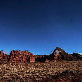 Arizona Landscape At Night by Todd Aaron