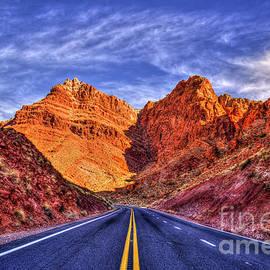 Reid Callaway - The Drive Thru Arizona Red Rocks The Grand Canyon Collection Arizona Art