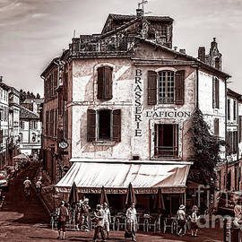Kay Brewer - Arles, France, in Sepia